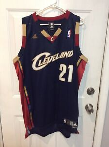Men s Adidas Cleveland Cavaliers Cavs JJ Hickson Swingman Jersey Sz ... 701838a15