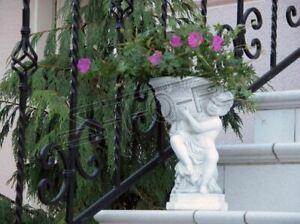 Blumenkübel Pflanz Kübel Dekoration Figur Blumentöpfe Garten Vasen gefäss 409