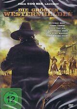 DOPPEL-DVD - Die größten Westernhelden - Buffalo Bill, Jesse James u.a.