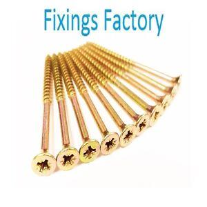 Multi-Purpose-Wood-Screws-Hardwood-screws-Choose-size-QTY-TOP-QUALITY