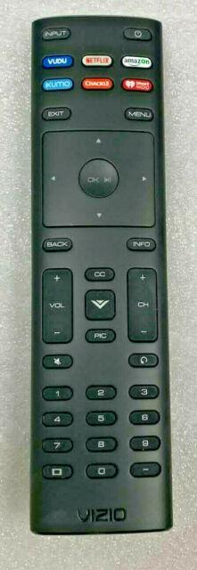 Original Vizio XRT136 Smart TV Remote Control