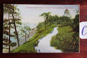 SéRieux Carte Postale Vue Carte Amérique Du Nord Usa Riverside Drive New York-afficher Le Titre D'origine