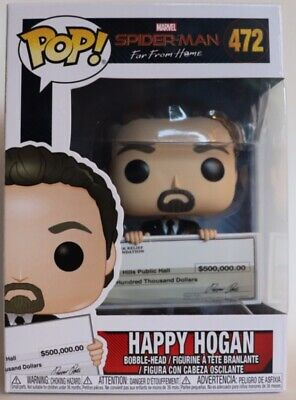 SPIDER-MAN Far from Home-Happy Hogan Brand New in Box Funko-Pop Marvel