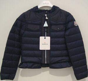 Giubbotto-MONCLER-tg-5a-abbigliamento-bambina-nuovo-Ambertine-1250