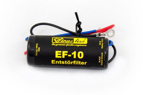 Sinuslive EF-10 Entstörfilter 10 Ampere Sinus Live Lichmaschine Lima pfeifen