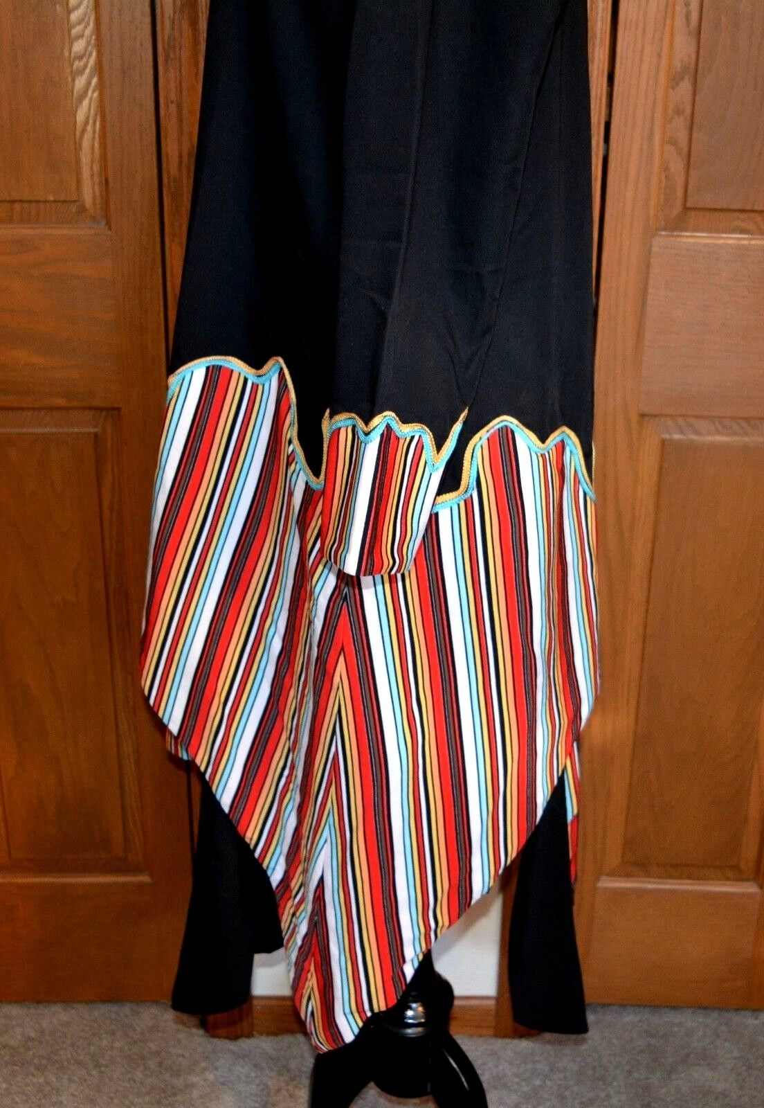 African Ceremonial Dress Hand Made Hand Tailored … - image 6