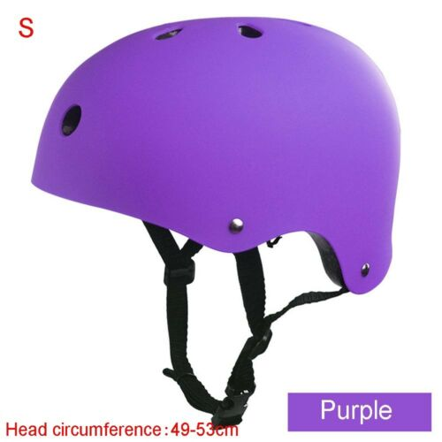 Kids Adult Mountain Pure color Safety Bicycle Helmet Skateboard  Hiking Cycling