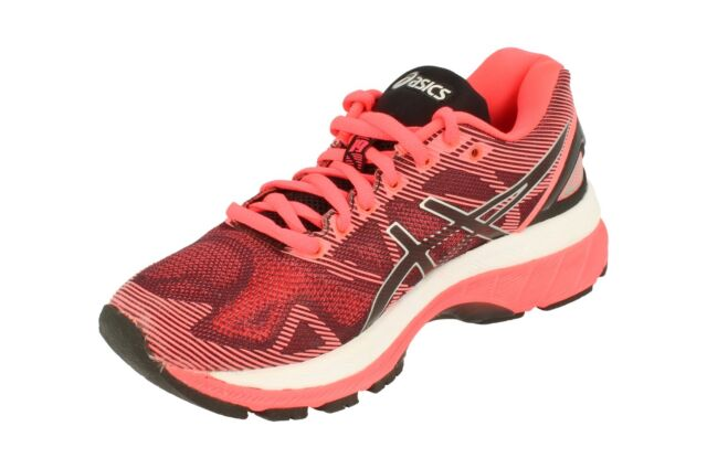 8bc48837fb26 Asics Gel-Nimbus 19 Womens Running Trainers T750N Sneakers Shoes 9093