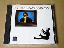 CD Lou Reed - New Sensations - Original RCA - Made in USA