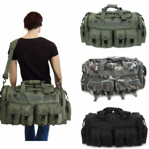 "30"" Large Men Duffle Bag Military Molle Tactical Cargo Gear Shoulder ... a1dd6b50a28"