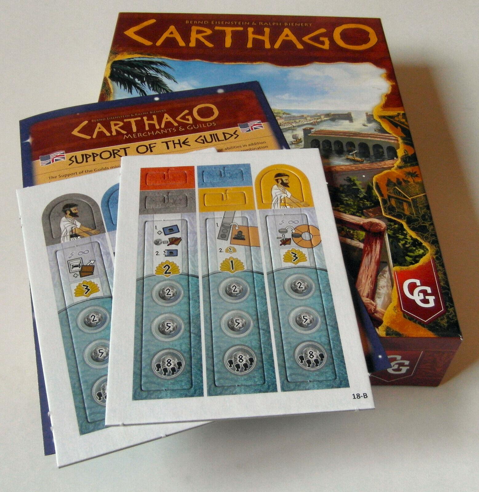 De Carthage  Marchands & Guilds + support the Guilds Expansion-Capstone Jeux
