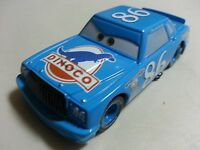 Mattel Disney Pixar Cars Dinoco No.86 Chick Hicks Metal Toy Car 1:55 Loose New