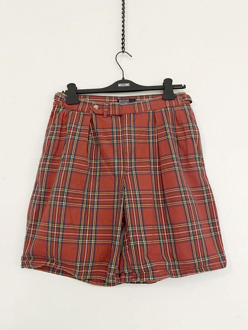 ⭕ 80s Vintage Ralph Lauren Plaid shorts : punk sh… - image 1