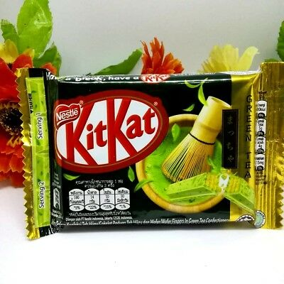 Painstaking Nestle Kit Kat Kitkat Green Tea Matcha Japan Flavor More Green Tea Taste 35g Consumers First Chocolate Candy, Gum & Chocolate