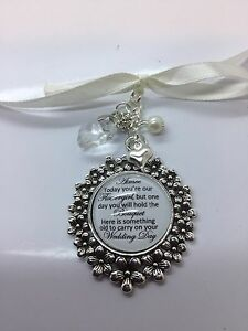 Image Is Loading Bridal Wedding Bouquet Memory Charm Bridesmaid Flowergirl