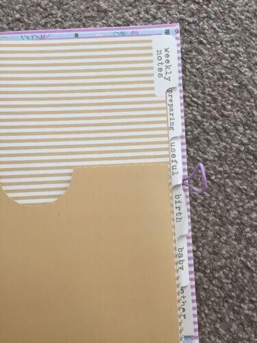 Notebook Organiser PREGNANCY JOURNAL Planning Book Diary Keepsake Planner