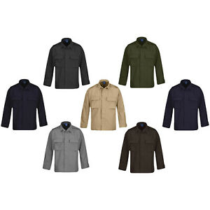 Propper-BDU-Durable-Battlerip-Cotton-Poly-Uniform-Tactical-Long-Sleeve-Shirt