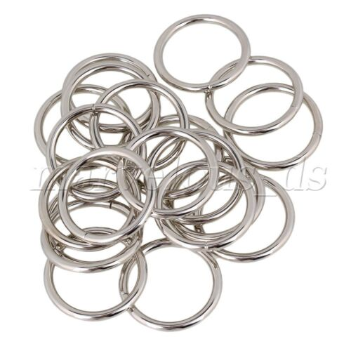 20pcs 1.26 Inches ID Silver Heavy O-Rings Closeout for Packages Durable
