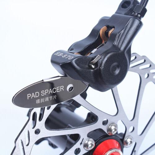 Portable Bicycle Bike Stainless Steel MTB Disc Brake Pads Spacer Bike Repair Kit