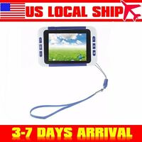 Us 3.5lcd Multifunction Digital Reading Magnifier 2-32x Zoom For Low Vision Aid