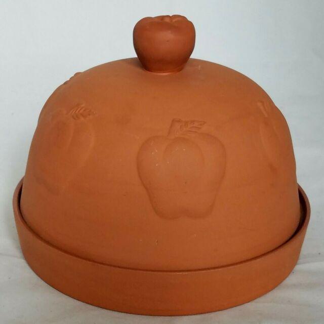 Progressive International Corp Terra Cotta Apple Baker
