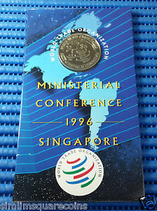 1996-Singapore-WTO-First-Ministerial-Conference-Commemorative-5-Coin
