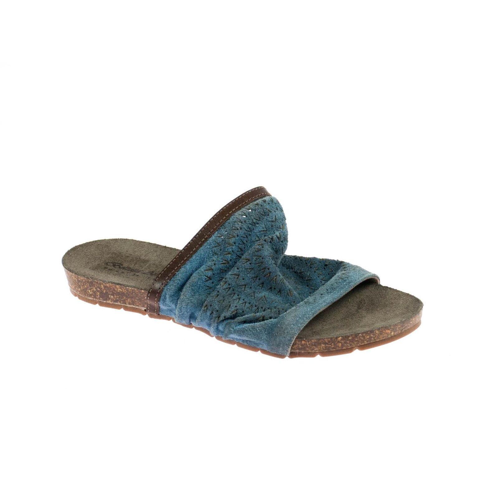 Bottega artigiana Femmes Sandale en cuir bleu