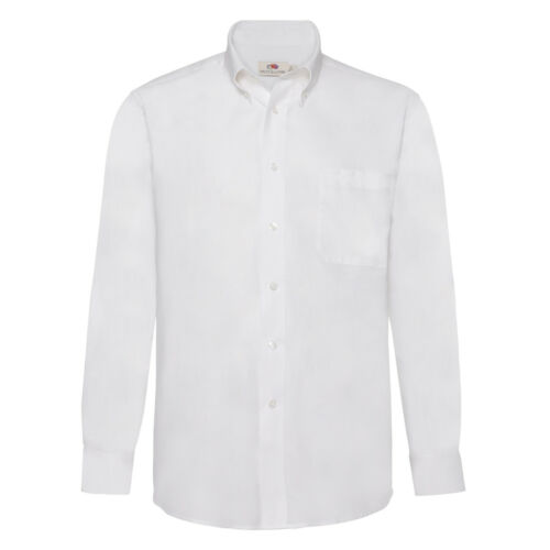 Fruit of the Loom Mens Long Sleeve Oxford Shirt SS402