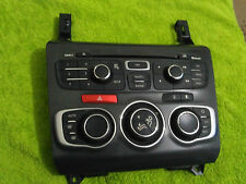 CItroen DS4 C4 Radio air conditioning control panel 9666027577 Dry Stored London