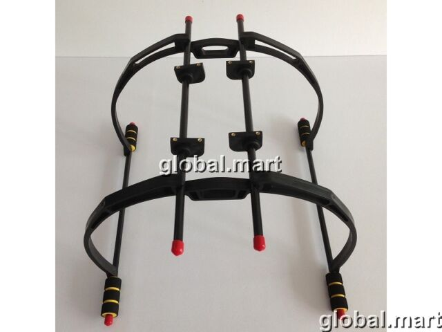 Landing Skid Gear Stand Kit Universal 200mm Quadcopter Hexacopter Alien 450 (B)