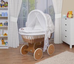 Waldin-Baby-Passeggino-Culla-Completo-con-Accessori-XXL-Sostanze-Bianco