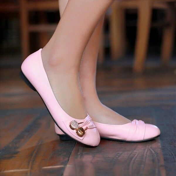 ballerine rosa mocassini Zapatos mujer comode rosa ballerine morbide simil pelle 9791 3e0a7a