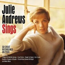 Julie Andrews Sings 50 Great Recordings on 2 CDs I Feel Pretty  and many more
