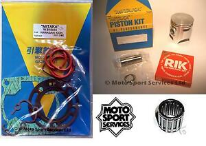 KX-85-01-13-Mitaka-Top-End-Rebuild-Kit-Piston-C-Gasket-Small-End-Bearing-KX85