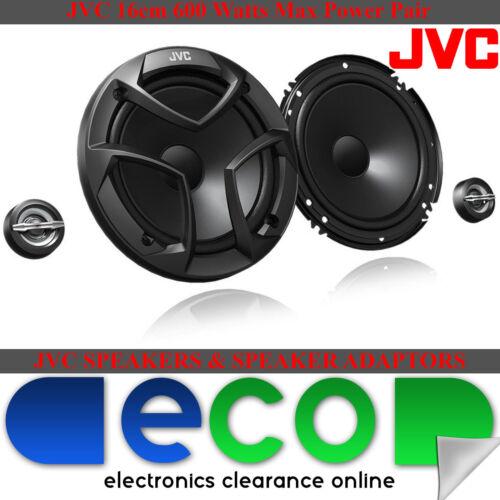 Vauxhall Insignia Jvc 16cm 600 Watts 2 Vías de puerta trasera de coche Componente Altavoces