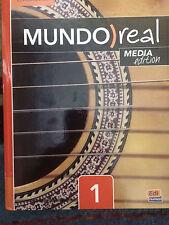 Mundo Real Level 1 Student book Plus ELEteca Access