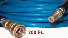 200 High Pressure Blue Solution Hose 14 Carpet Cleaning Machine Cleaner New
