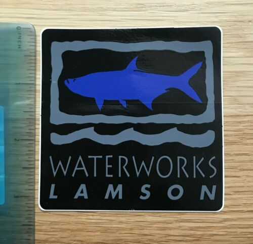 """Idaho WaterWorks Lamson Fly Fishing Sticker Decal Choose Your ColorApprox 3.5/"""""""