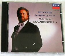 BRUCKNER A. - SYMPHONY N°0 - CHAILLY - RSO Berlin - CD Nuovo Unplayed