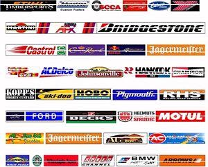 SLOT CAR 1//32 1//43 SCALE CUSTOM GUARD RAIL~BARRIER WALL LOGOS~ADVERTISING