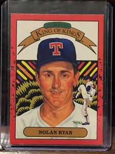 1990 DONRUSS NOLAN RYAN KING of KINGS #665 BASEBALL CARD