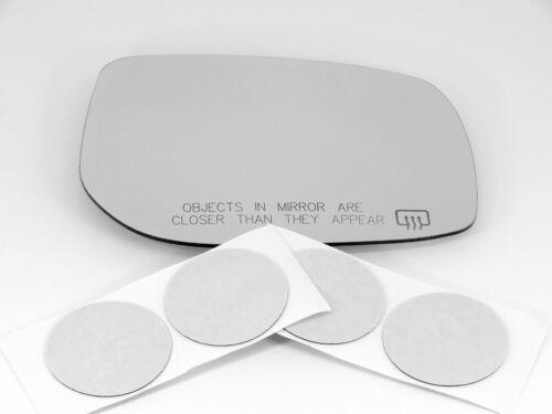 Heated USA built m Fits 09-13 Corolla Matrix Right Passenger Mirror Glass Lens