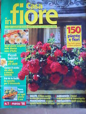 Casa in Fiore n°1 1998 - 150 Piante e Fiori  [D56]