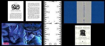 1:12 SCALE MINIATURE BOOK HARRY POTTER PRISONER AZKABAN DOLLHOUSE SCALE