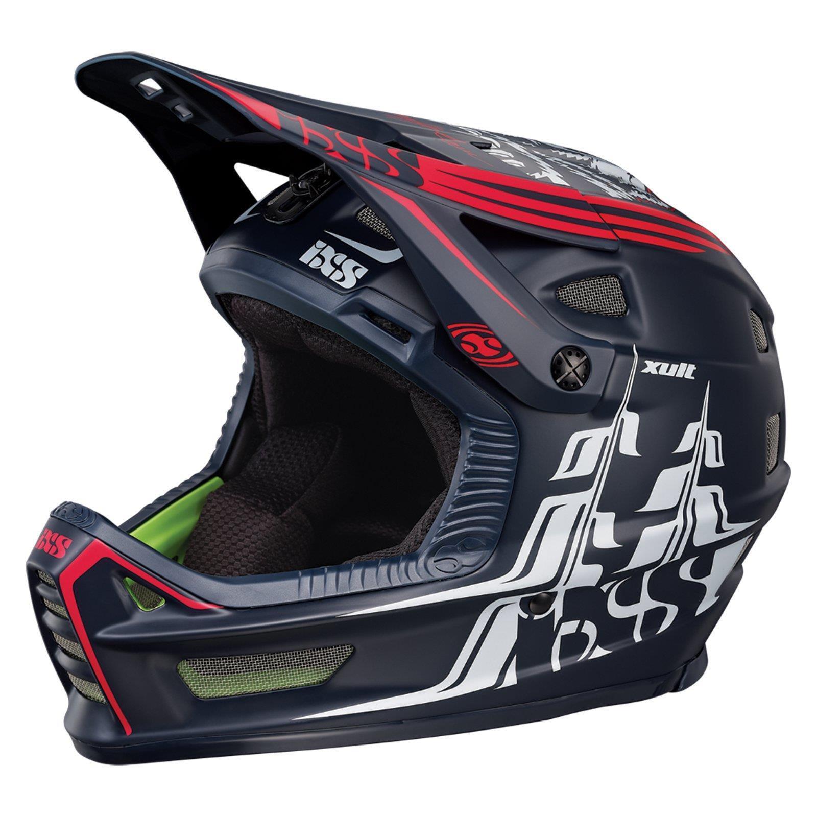 IXS XULT Helm Darren Berrecloth Edition Gr L XL Full Face MTB DH Downhill BMX FR