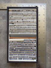 Large Lot Letterpress Type Bembo 14pt Amp 16pt Caps Figs