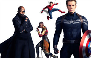 Avengers Infinity War Captain America Chris Silk Poster Wallpaper 22
