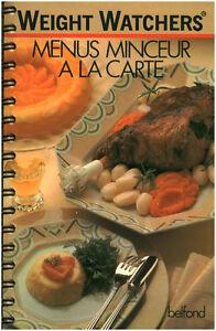 Livre-Weight-Watchers-menus-minceur-a-la-carte-book