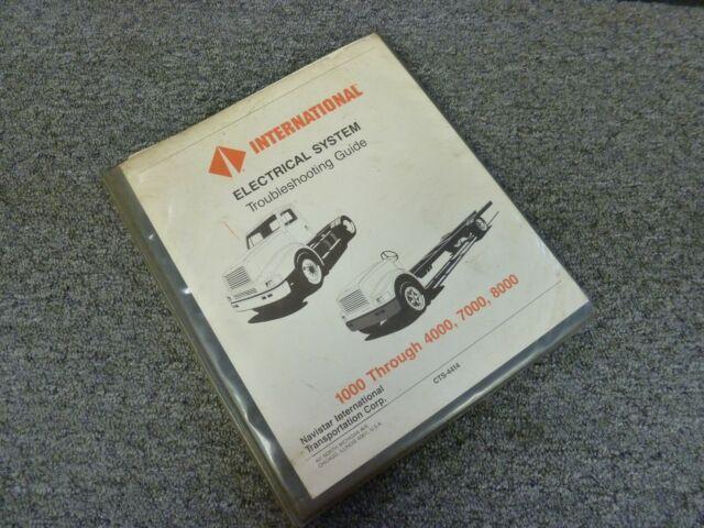 1992 International 5000 5070 Paystar Truck Electrical