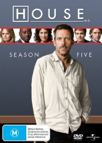 1 of 1 - House, M.D. : Season 5 (DVD, 2009, 6-Disc Set)